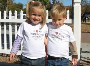 Adam and Noya - I love my twin sibling!