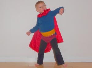 4х-летний  Супермен