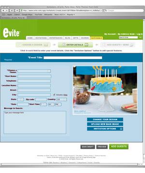 Image: www.evite.com