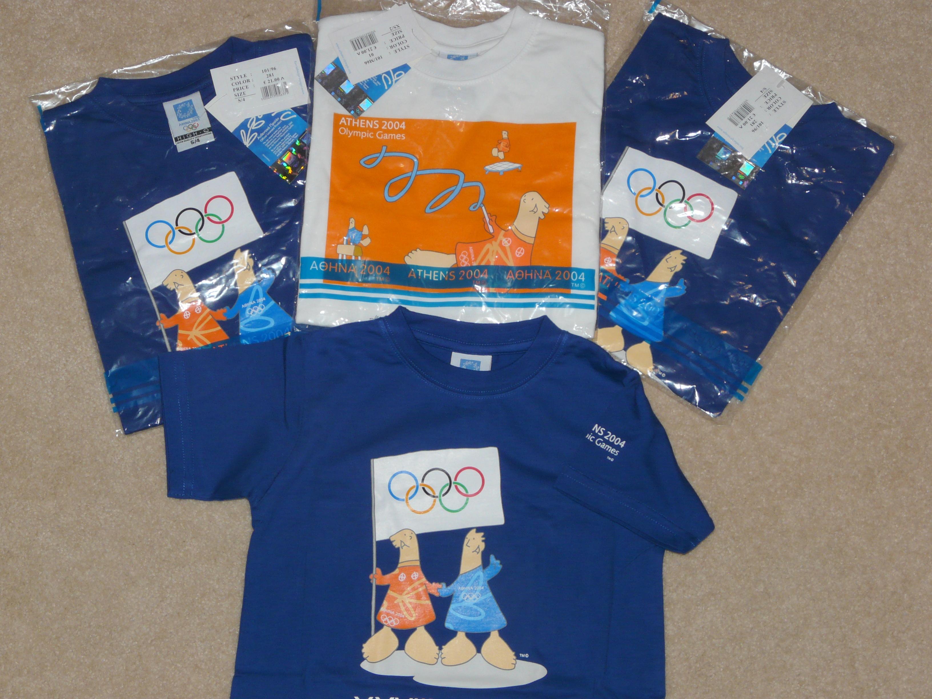 Привет с Олимпиады 2004!