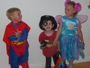 Супермен, Пират и Фея