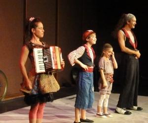 Цирковая семья