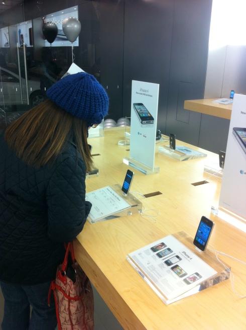 iPhone4 нам в кошелочку, пожалста ...