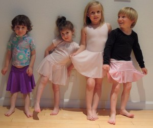 Четыре балерины