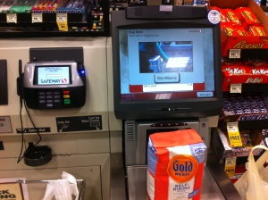 Self Checkout - Safeway