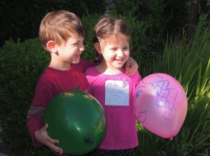 Веселые шарики