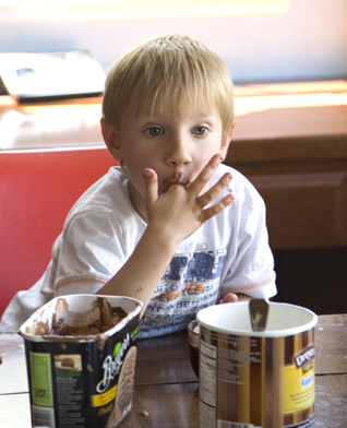 Ведро мороженого