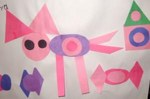Ноя: Розовая кошка с конфетой